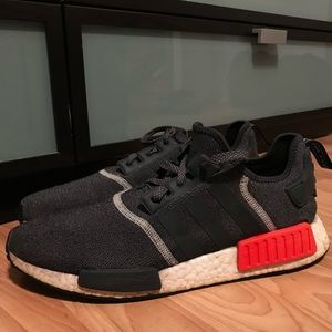 Adidas NMD red and black